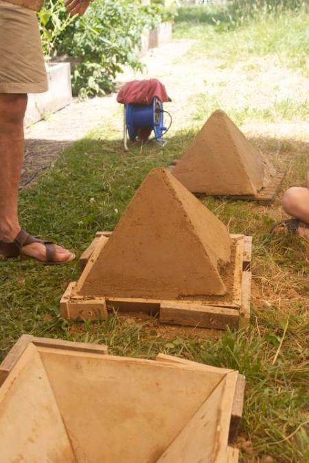 Stampflehmpyramiden